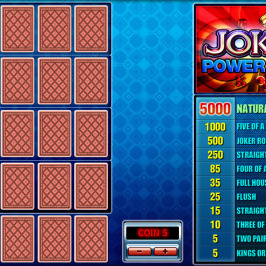 Joker 4 Hand Poker